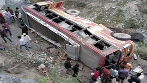Bus falls into gorge in Chamba; 35 injured