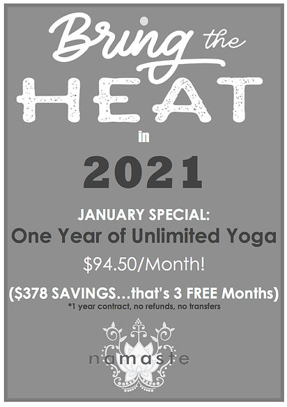 Bring the Heat 2021 JAN Special Monthly.