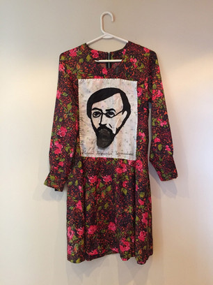 Dress with the portrait of Nikolai Gavrilovich Chernyshevsky