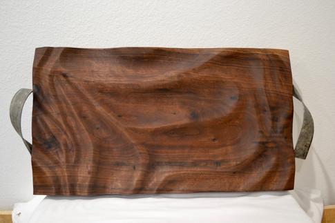 Carved Black Walnut