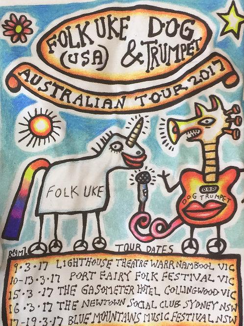 Dog Trumpet 2017 Tour Tee
