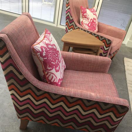 Delcor British Furniture. Romo. Thibaut.