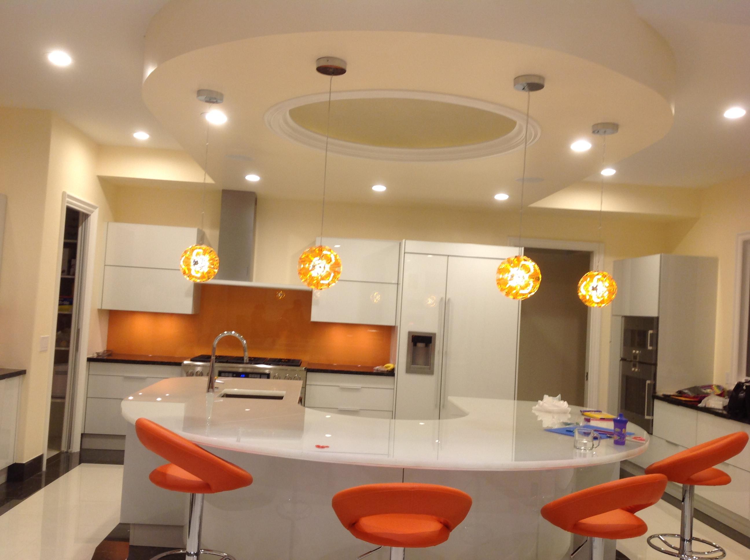 Kitchen Lights On