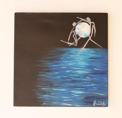 Luna llena en Varese 50x50