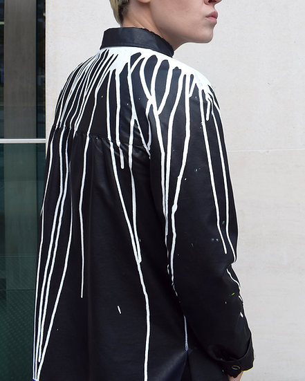 Drip Leather Jacket