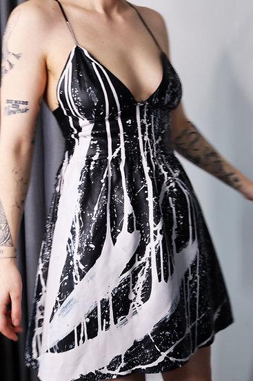 Fire Light Leather Dress