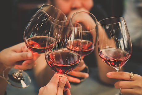 People Drink wine enjoy to night, Business People Party Celebration Success Concept.jpg