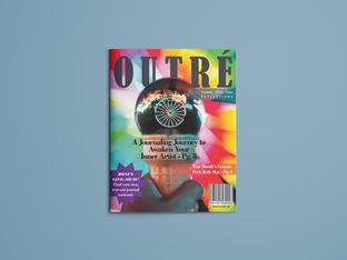 Outré Magazine Layout