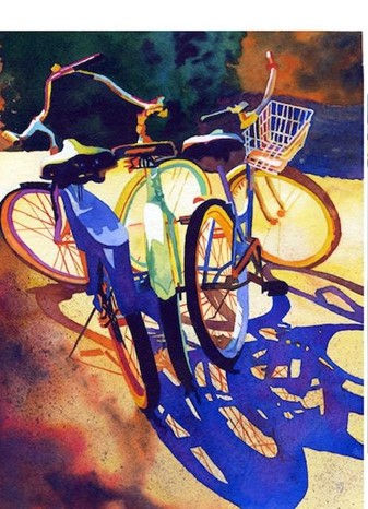 AAR:  Bikes, Color  and Shadow Recording