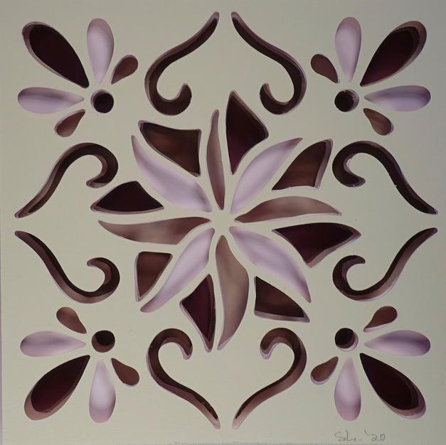 Paper Cutout Tile