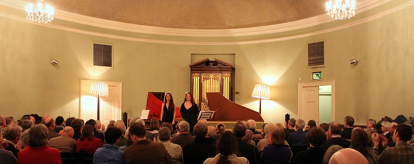 Le Petit Concert Baroque - Chani and Nadja Lesaulnier - Harpsichord duo - Edinburgh