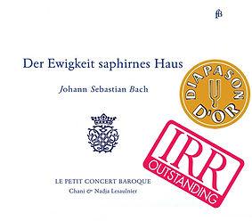 Le Petit Concert Baroque - Der Ewigkeit saphirnes Haus - CD - Cembali duo