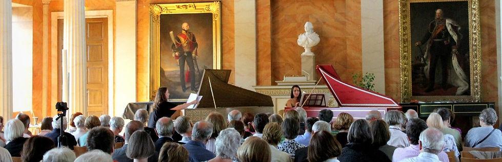 Le Petit Concert Baroque - Chani and Nadja Lesaulnier - Cembali duo - Göttingen Händel festival