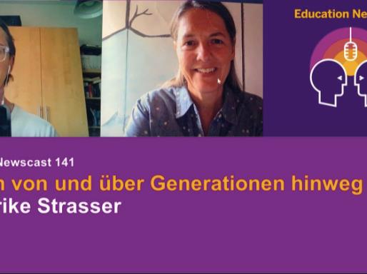 Lernen von und über Generationen - Ulrike Strasser im Education News Cast mit Thomas Jennewein/SAP