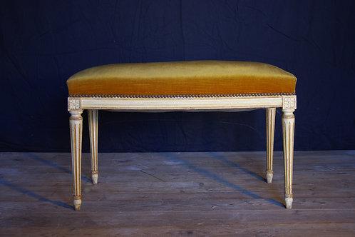 Banquette style Louis XVI