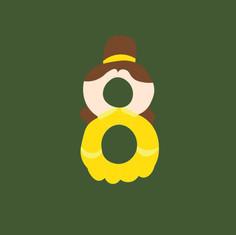 Number 8 - Belle
