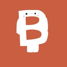 Letter B - Baymax