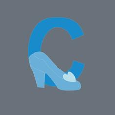 Letter C - Cinderella