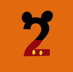 Number 2 - Mickey Mouse