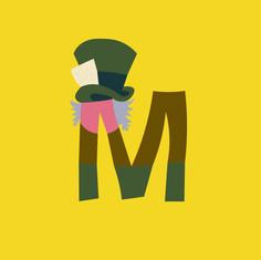 Letter M - Mad Hatter