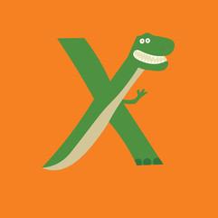 Letter X - Rex