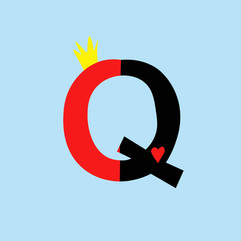 Letter Q - Queen of Hearts