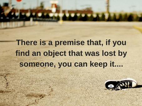 A Lost Object