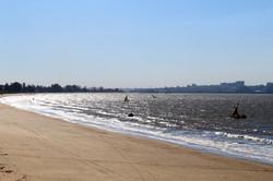 Maputo view from Catembe