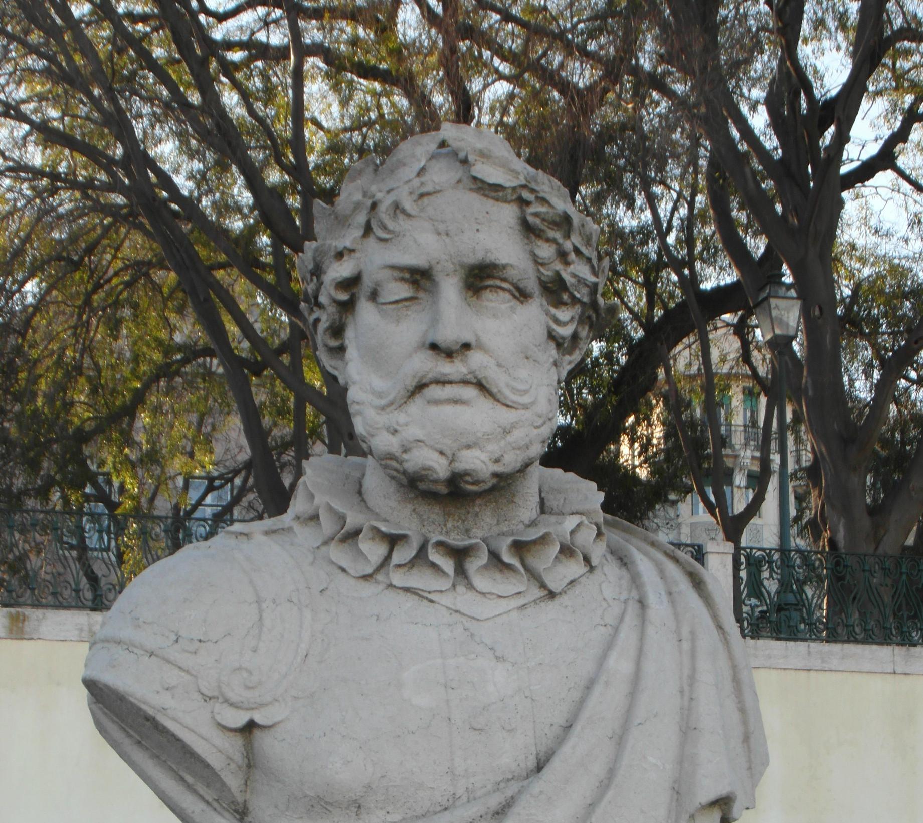 Bust of Camões, Principe Real-Lisbon