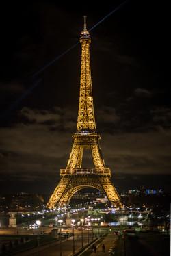 Eiffel Tower Soft HDR