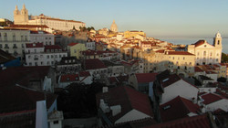 View from Portas do Sol, Lisbon