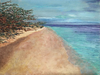 Beach, Water, Bush