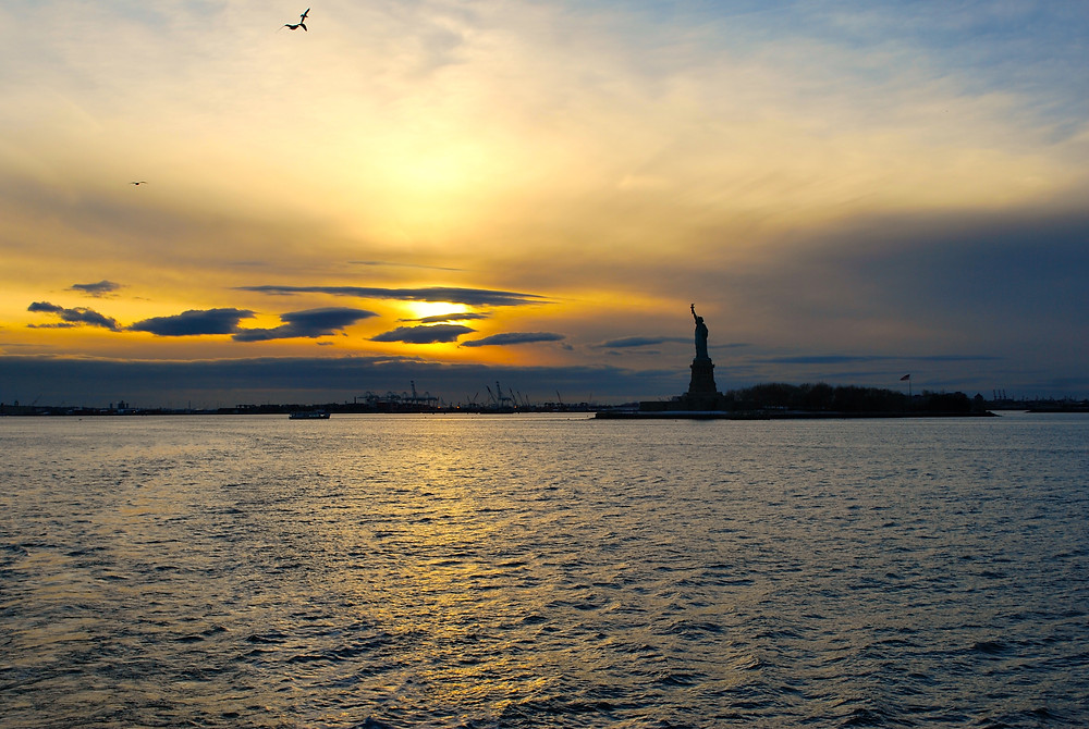 The Statue of Liberty, Liberty Island, New York