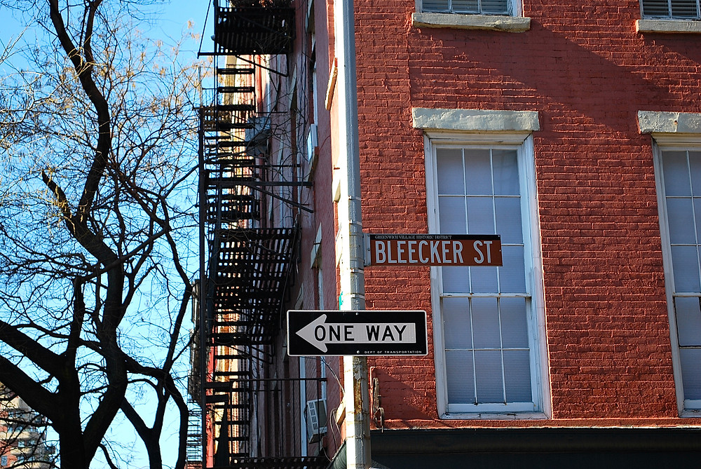 Bleeker Street, Meatpacking, New York