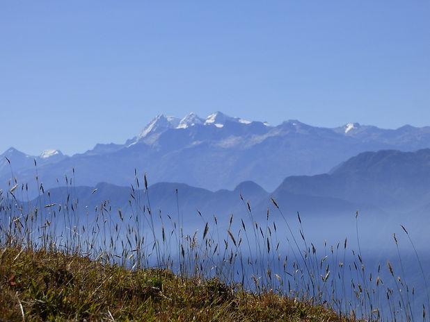 Vue sur les sommets de la Sierra Nevada de Santa Marta depuis le Cerro Kennedy