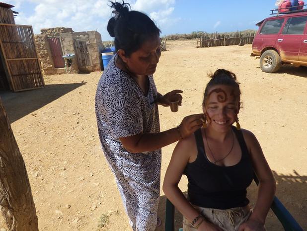 Maquillage wayuu