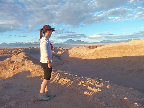 Aurélie, notre guide à la Valle de la Luna - Chili