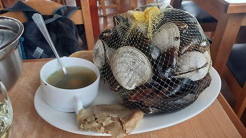 Curanto, plat typique du Sud du Chili