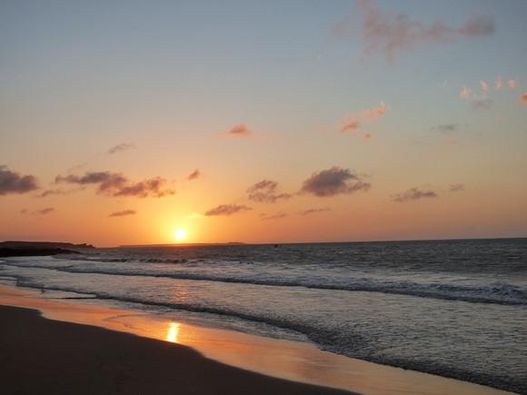 Coucher du soleil à Punta Aguja