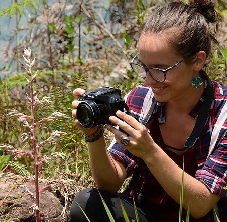 Aurélie, guide touristique en Amérique du Sud