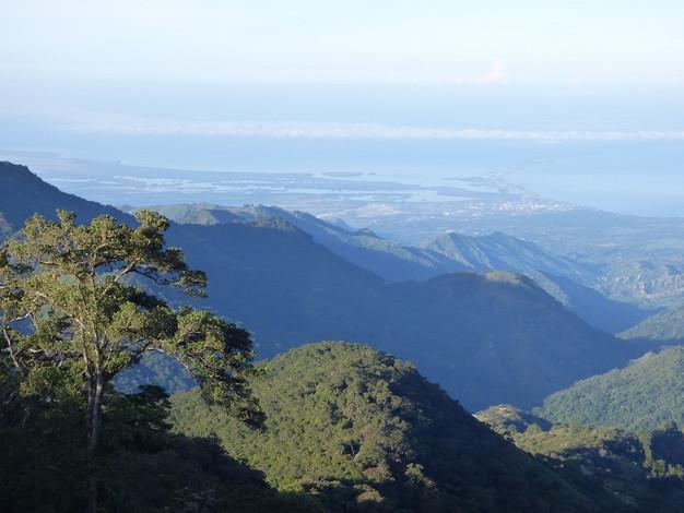 Vue sur la Cienaga Grande, plus grande lagune de Colombie
