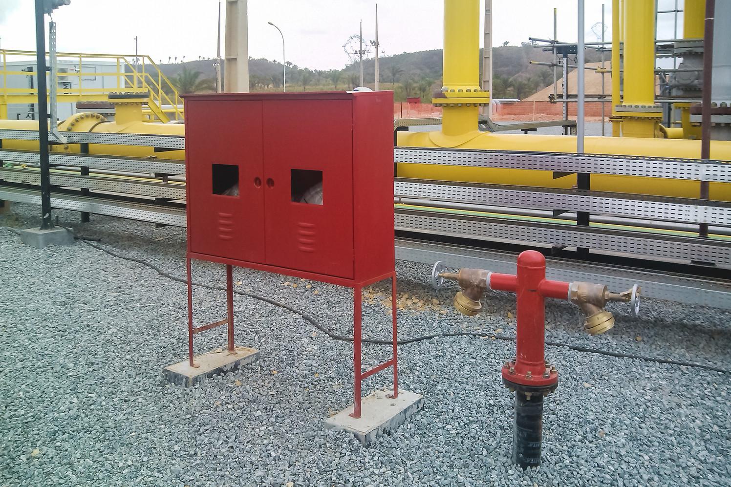 Instalações de incêndio - hidrantes