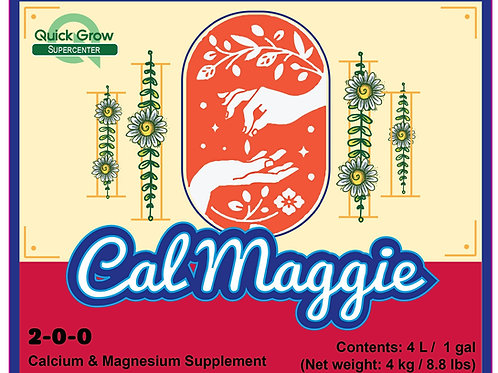 Cal Maggie- Strong Sturdy Stems