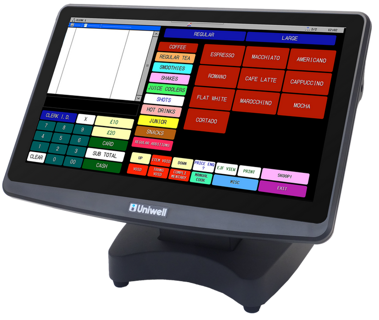 Uniwell Touchscreen