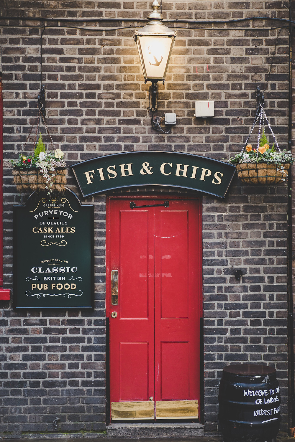 Fish and chips EPOS supplied by CRS-epos
