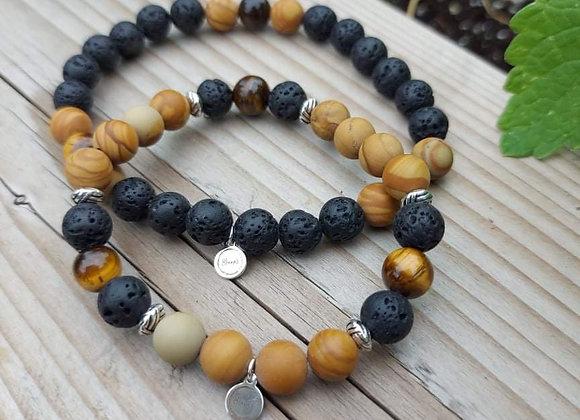Duo bracelets solstice/équinoxe
