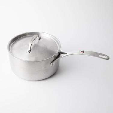 ステンレス鍋18cm