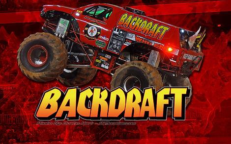 BACKDRAFT Monster Truck 2020 Event in As