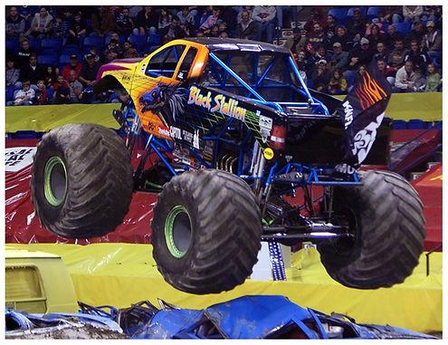 Monster Truck Jump at Monster TNT in 202