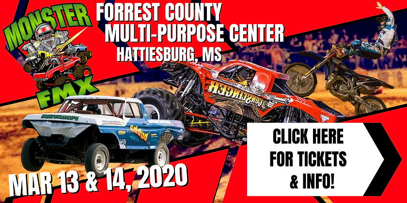 Monster Truck Show Mar 13 and 14 2020 -